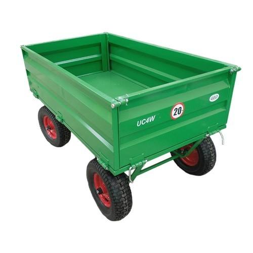 Anhänger 500 kg - Zweiachser für Kleintraktor & ATV - kaufen